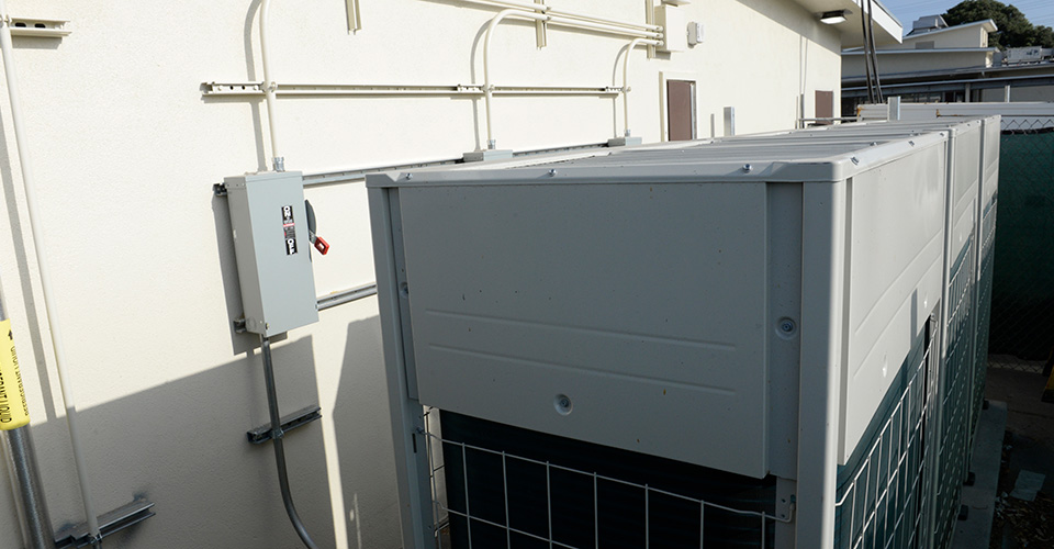 HVAC system at Riley Elementary School