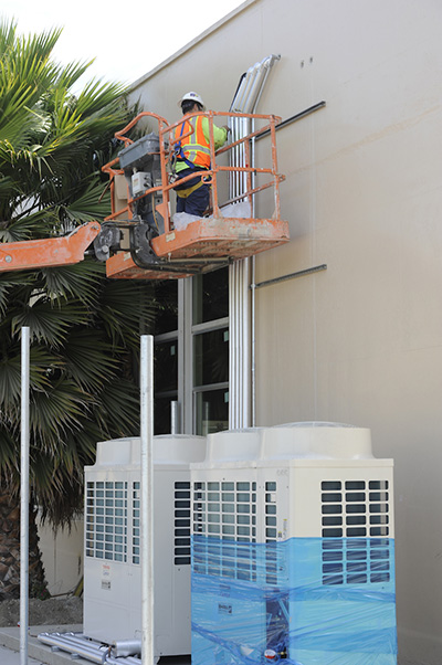 Stephens Elementary School upgrades in progress in Long Beach